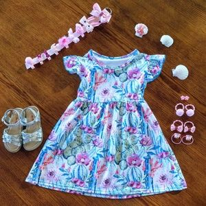 Other - Cactus Bloom Toddler Boutique Dress